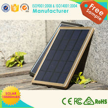 Extenal universal 6000mah solar battery charger for mobile phone