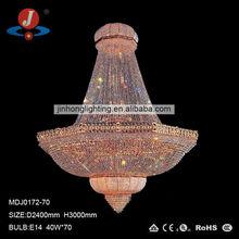 iluminación pendiente de cristal grande,iluminación de hotel