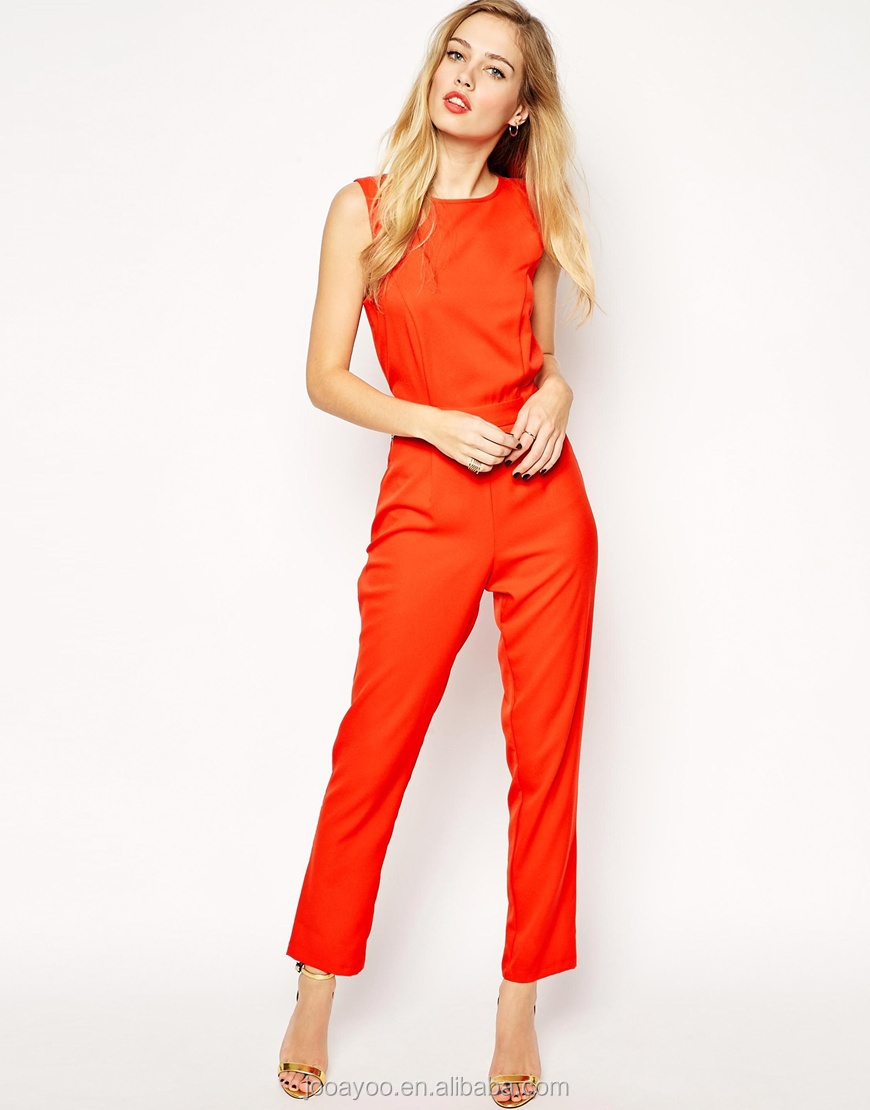 Orange Jumpsuit For Women | Fashion Ql