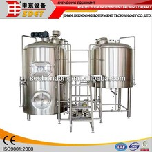 Glass bottle brewing machines for beer made in China for sale