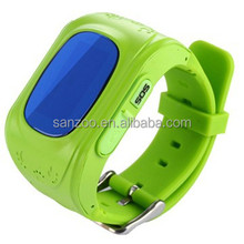 Excellent quality classical GPS +LBS position small gps kids tracker watch