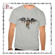 fashion bulk wholesale man bamboo cotton t shirt with custom design