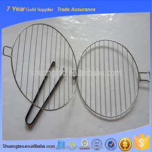 high quality stainless steel foldable grills for sale , available handle