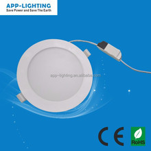 CE & RoHS approved ring light 12W dimmable led round panel