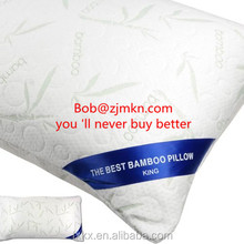 Hotel comfort bamboo pillows filling 2kg shredded memory foam
