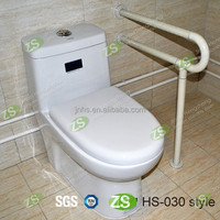 Toilet nylon surface S S hand grab bar