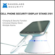 2015 new design fashion security display holder for mobile phone