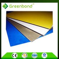 Greenbond fireproof aluminium composite panel for building decoration