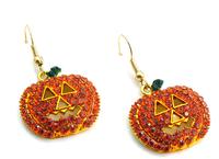2015 Top Wholesales Double Side Fashion Jewelry Crystal Earrings Ball Women stud Earrings