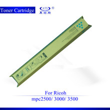 Top quality products color toner cartridge C/K/M/Y compatible Ricoh MPC2500 China supplier