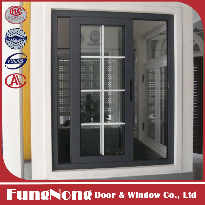 Modern Window Grill Design Aluminum Sliding Window Price List
