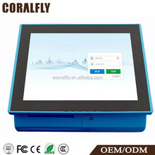 CORALFLY POS1802 2015 Excellence CPU 1GHz ethernet all in one pos terminal