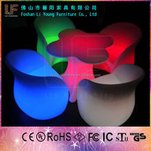 Hot Sales Professional Manufacturer Fashionable LED Flashing Bar Furniture Beautiful And Durable LED Glowing Chairs And Tables