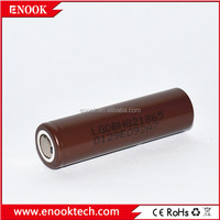 LG HG2 3000mAh high selling rechargeable 18650 lithium poiymer battery rainbow e-cigarette battery