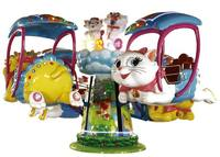 Outdoor amusement electric carousel rides,kids electric carousel,merry go round ,rolling plane LT-4042C