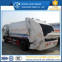 Manual Transmission Type and Diesel Engine 7 cubic rear loader garbage truck manufacturing company