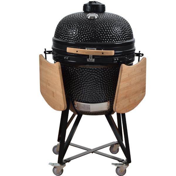 2015 mais novo Design de aglomerados de madeira churrasco fumante