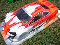 PVC plastic car shell with printing