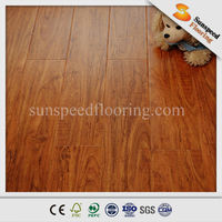 Arc Click AC3 E1 Standard white gloss laminate flooring