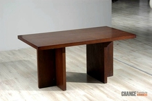 Suar Wood Solid Slab Wood Dining Table Indonesia