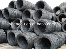 Hot Rolled AISI & GB Steel Wire Rod, Wire Rod sae 1006 Steel sae 1008