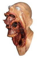 2015 Eco-friendly Huizhou Realistic Horror Mask latex halloween costume