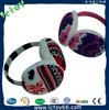 fashion design earmuff headphone made in shenzhen factory