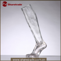 High Fashion Leg Model Female Mannequin Leg Form Window Display Stands For Stockings