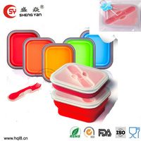 Custom food warmer take away lunch box silicone