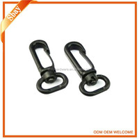 Plastic spring snap hook for luggage,Plastic buckle for bags