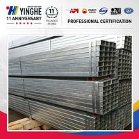 gp pipes/ pre-galvanized square steel pipe& tubes