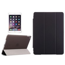 Three Folio Flip Leather Smart Back Cover Case for iPad Air 2 with Stand