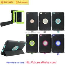 Business style smart Week/Sleep Tri-fold flip stand case for iPad Mini