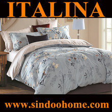 2015 european style home design single size 100% twill cotton wholesale bed sets S-BRD-011
