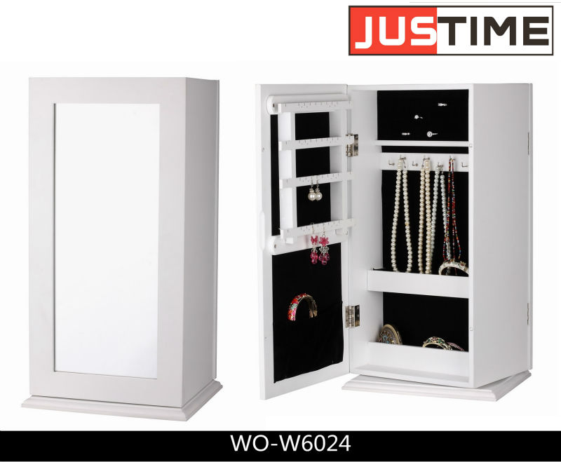 meubles miroir coffret bijoux rotation armoire bijoux. Black Bedroom Furniture Sets. Home Design Ideas