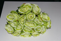 centerpieces for wedding artificial bouquet rose flower, bunch flowers with 18 heads