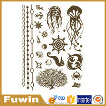 Factory supply tattoo stickers temporary flash tattoo supply