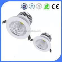 2015 new epistar chip White frame cob 3.5inch 4000k led downlight 6w with 2 years warranty CE EMC TUV LVD