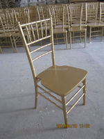 Gold Color Solid Wood Chiavari Chair