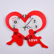 classic acrylic skeleton clock