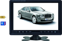 Stand Along Type 9inch Car TV Monitor With AV, TV, USB, SD, FM Radio Function