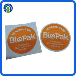 Uv resistant private printing self adhesive kiss cut stickers, custom stickers printing