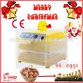 más calientes de venta ce aprobado completo automático de huevos 96 termostatos para incubadora de huevos para la venta