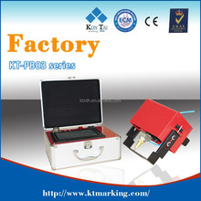 Factory! 9 years produce experience! CE, ISO, FDA approved! Portable dot pin marking machine for steel marking!