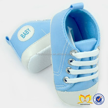 Latest Fashion Canvas Newborn Baby Shoes with flower for girls 2015 happy baby shoes