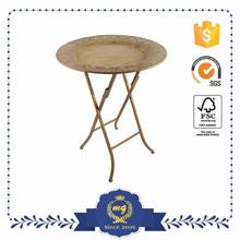 Brand New Attractive Rectangle Table With Metal Frame