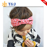 >>>5 Colors Twisted Baby Toddler Girl Cotton Headband Hair Band Cute Solid Head Wrap Babies' Hair Accessories