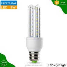 360 degree Hot sell led bulb light SMD2835 3U 7W 9w E27 B22 led bulb housing