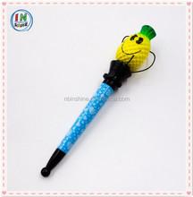 Fashion fruit shaped jump boxing pen , pineapple pen