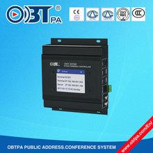 IP LAN/WAN network audio adapter IP PA system, IP digital Amplifier OBT-9708